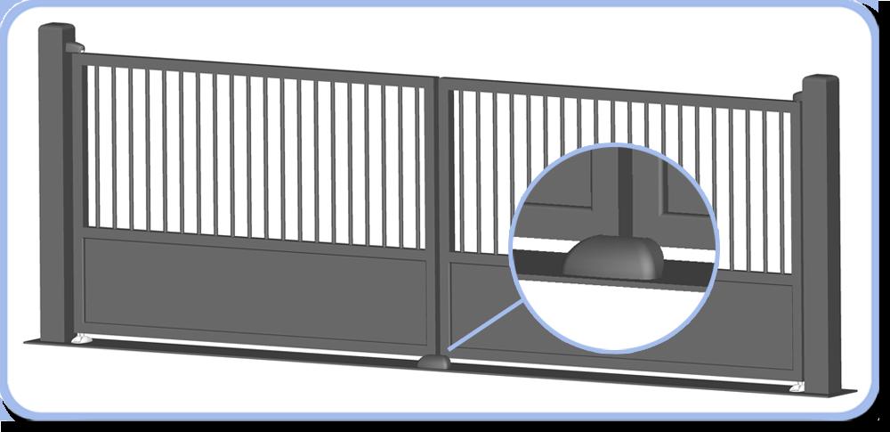 Arret portail automatique - Butee de portail ...